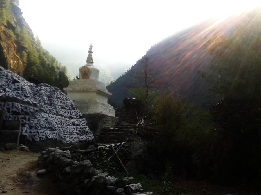 Ostoja szamnana-Himalaje Mont Everest (1)