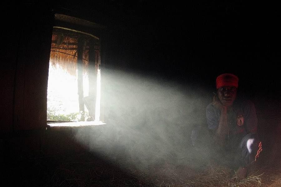 Ostoja szamana-Irian Jaya – samotnie wśród ludożerców (3)