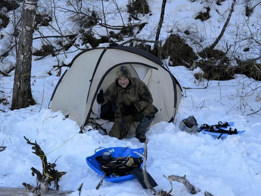 Ostoja szamana-Syberia zimą Żopa Mira (1)