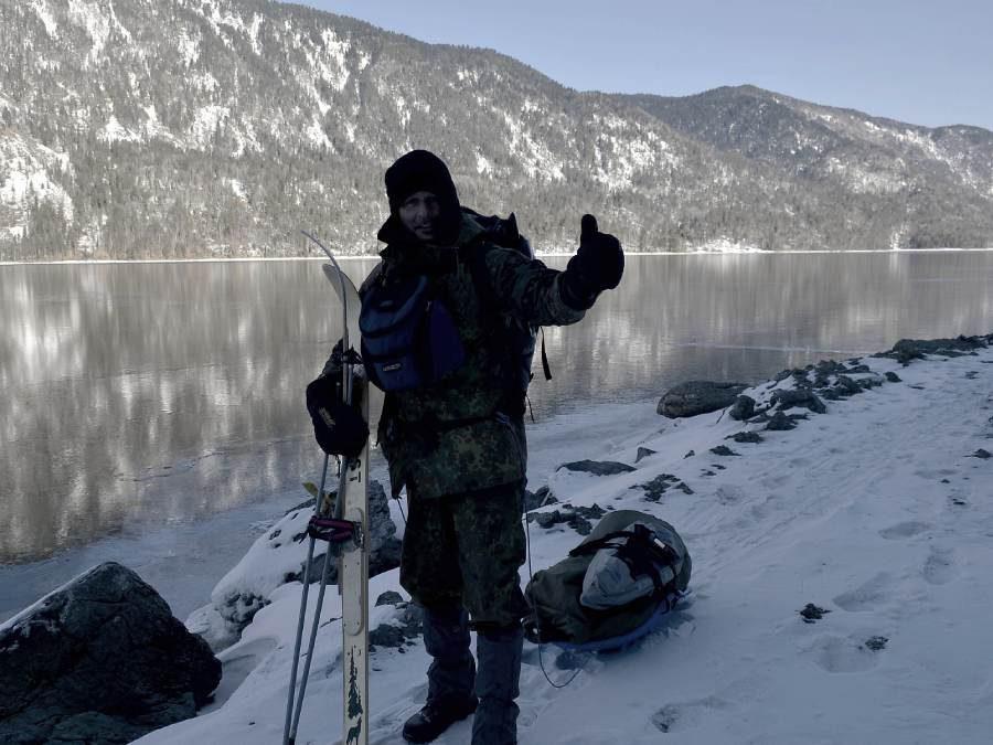 Ostoja szamana-Syberia zimą Żopa Mira (2)